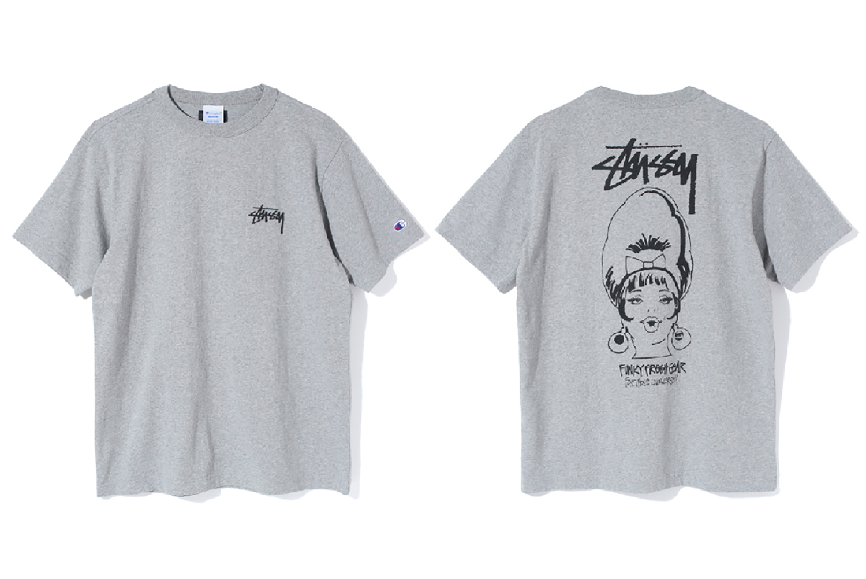 Stüssy x Champion SS17 T-Shirts