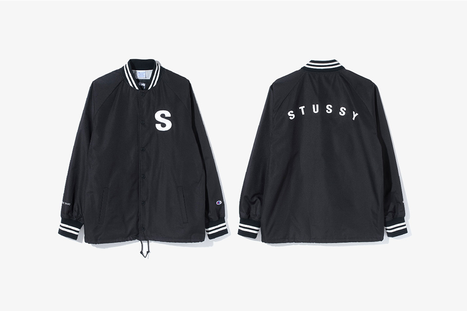 Stussy x Champion SS17 Capsule Collection