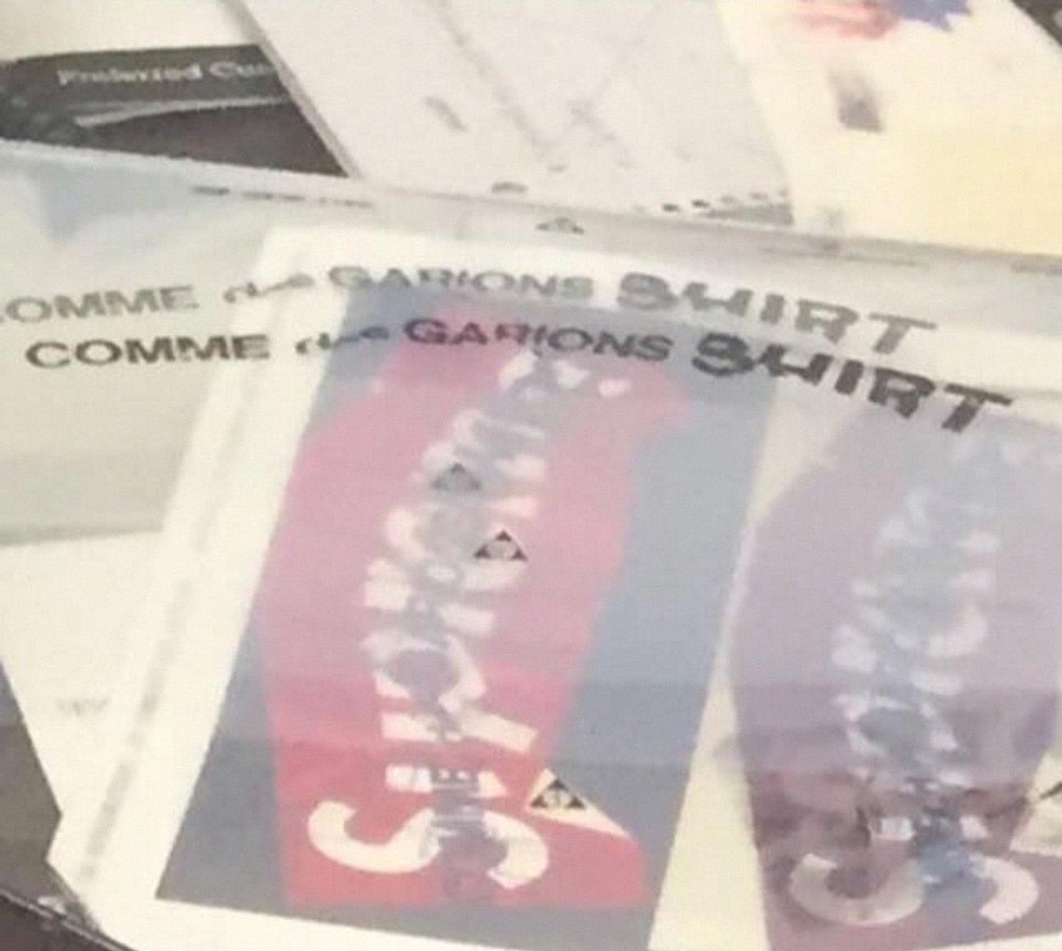 A Supreme x CDG Collab Is Rumoured