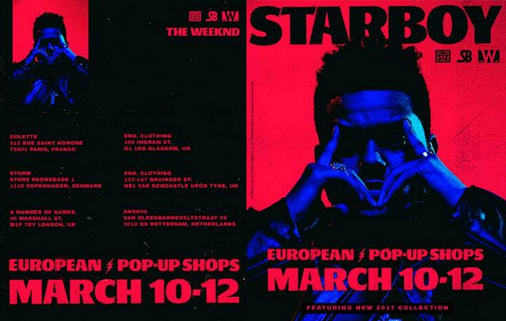 "The Weeknd To Launch New Limited-Edition ""Starboy"" Collection"