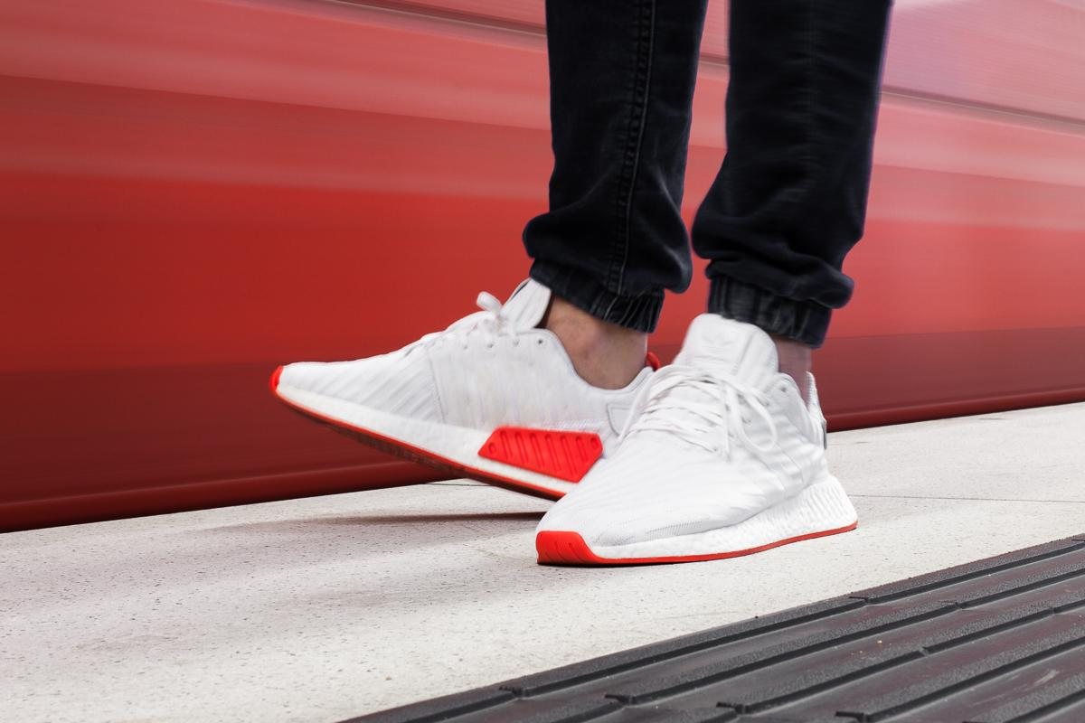 """Afew-Store Announce The Release Of The Adidas NMD R2 Boost Runner Primeknit """"White"""""""