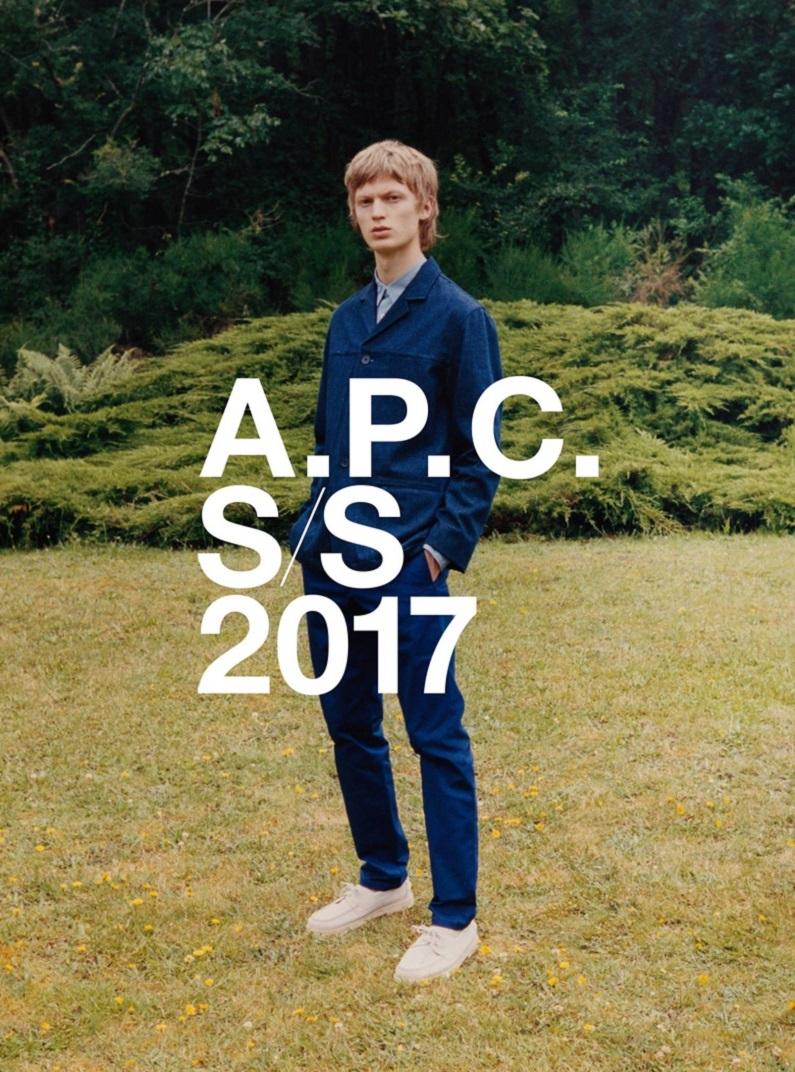 A.P.C Spring/Summer 2017 Campaign