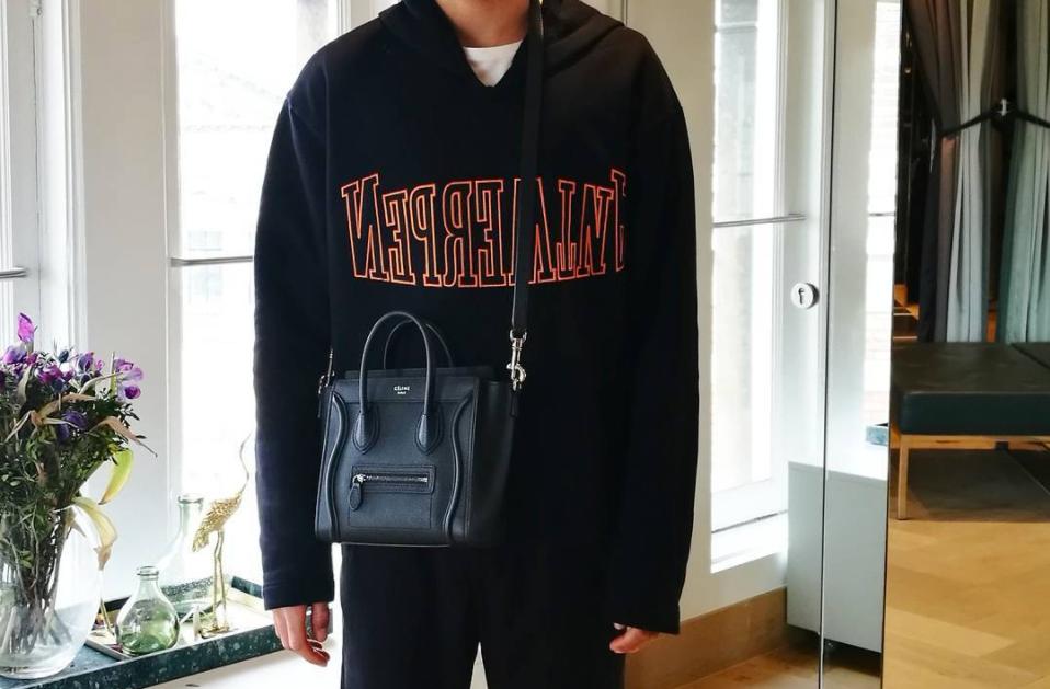 Will Men Start Rocking Women's Bags This Season?