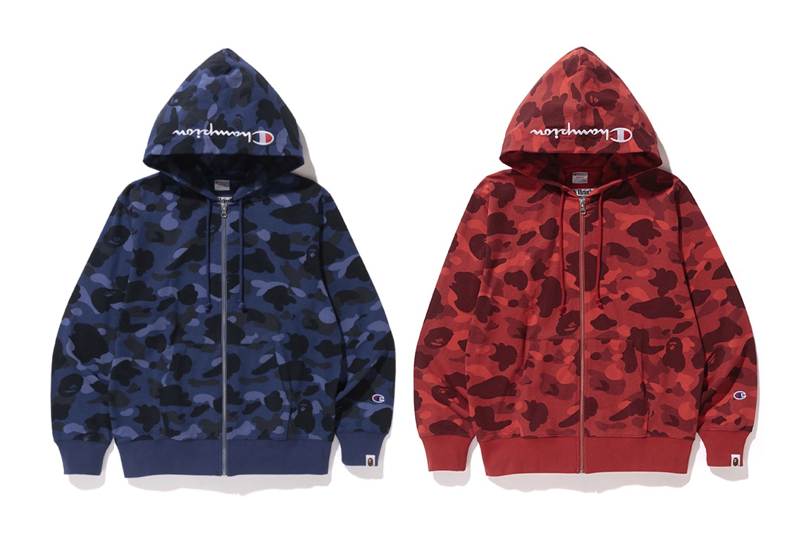 BAPE x Champion Announce Collaboration
