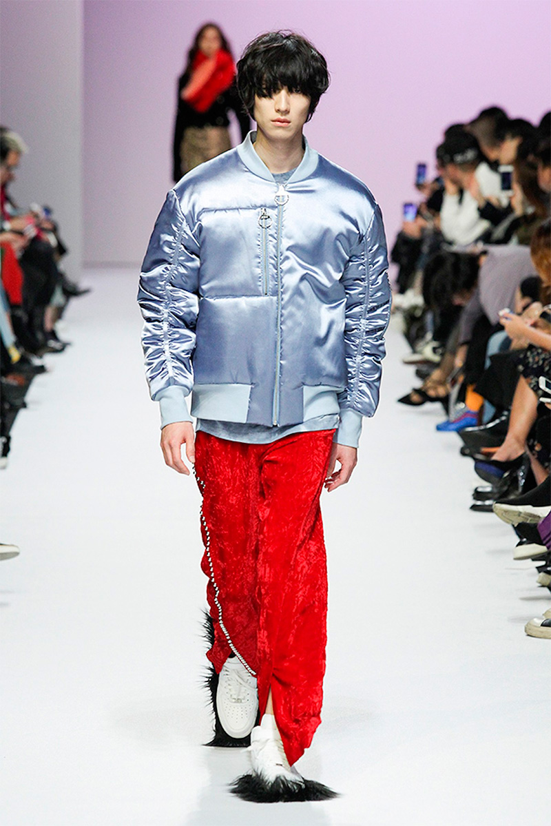 Kye FW17 Collection At Seoul Fashion Week