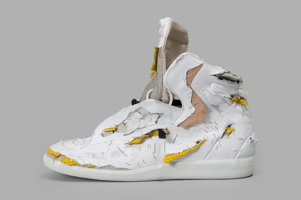 Maison Margiela Men's Multicolour Destroyed Future Sneakers