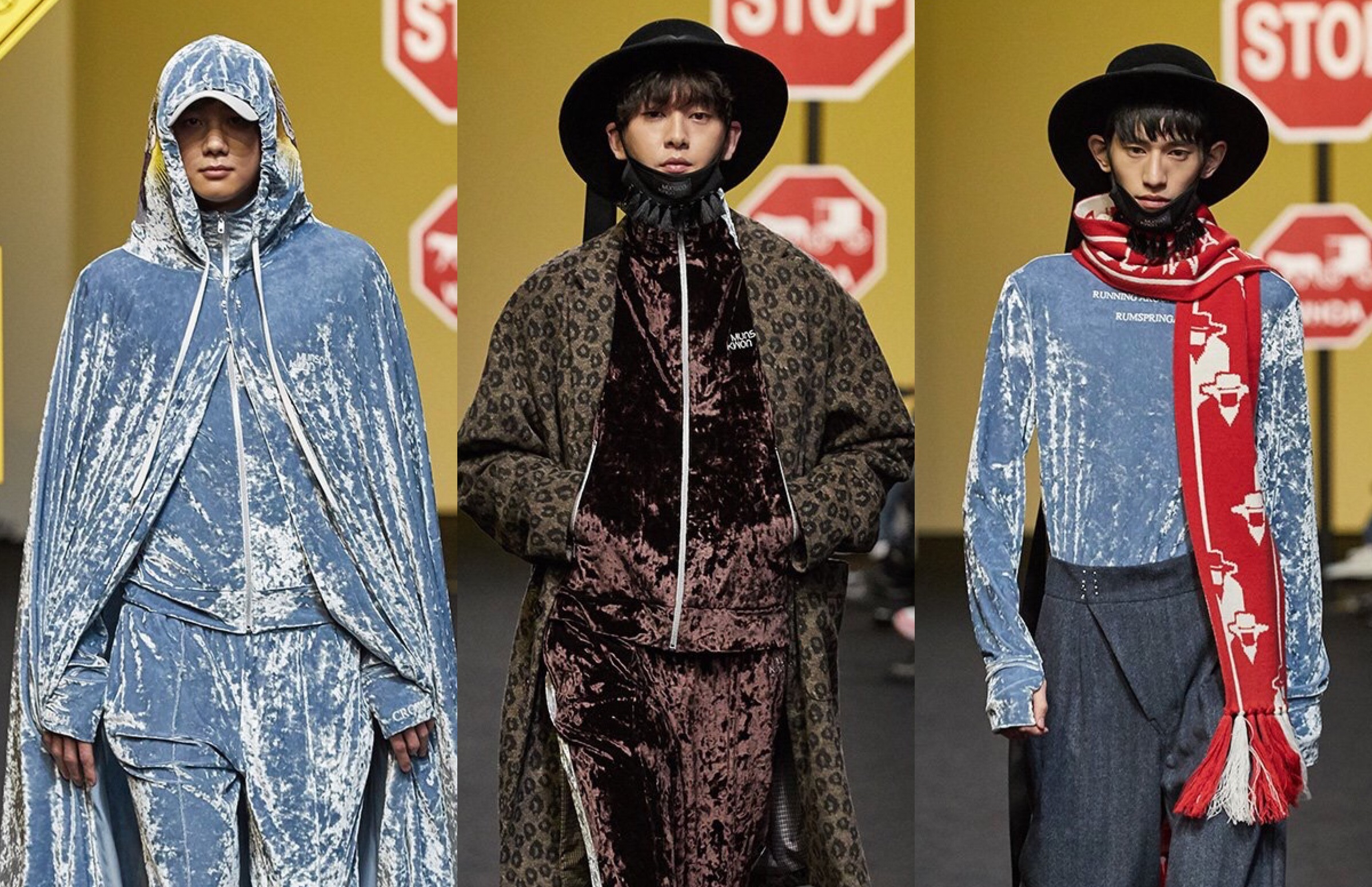 Munsoo Kwon FW17 Collection At Seoul Fashion Week