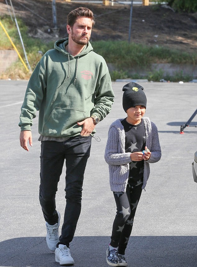 SPOTTED: Scott Disick In Ksubi Jeans And Adidas Yeezy Calabasas Sneakers