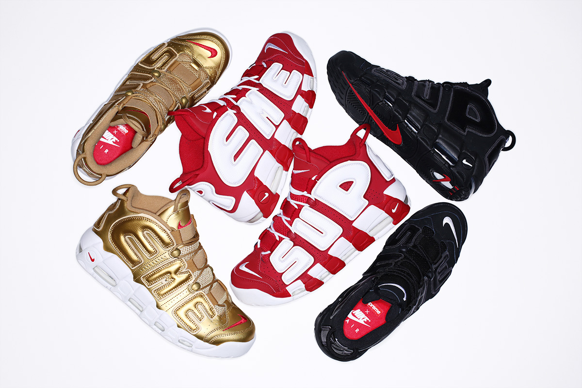 Supreme Announce The Nike Air More Uptempo Collaboration Will Release This Thursday