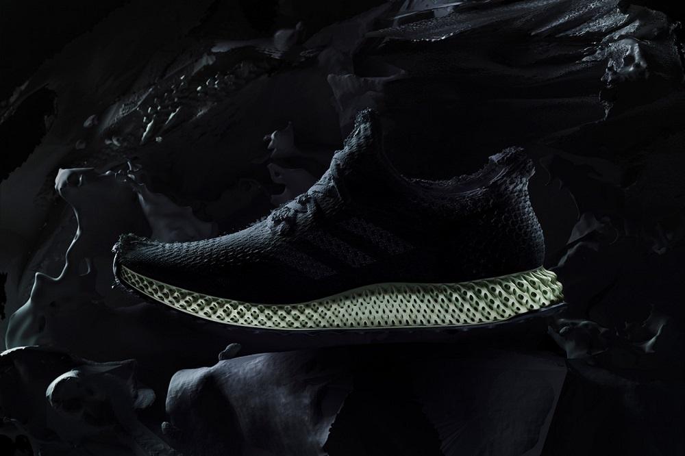 Carbon x adidas Futurecraft 4D Sneaker Made with Light and Oxyen