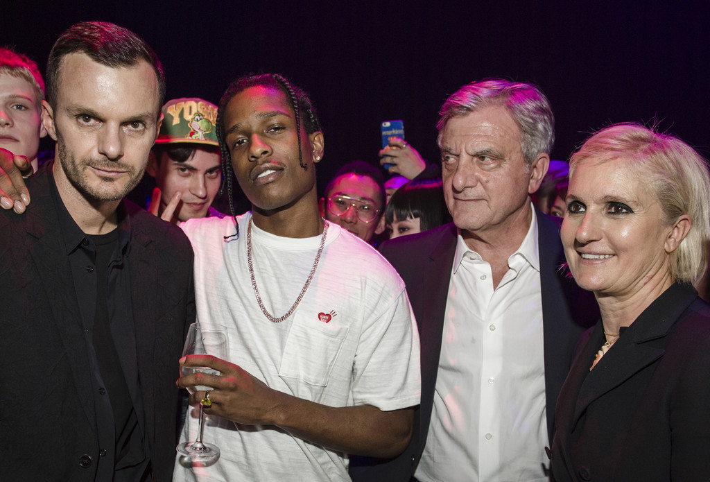 SPOTTED: A$AP Rocky in Human Made T-Shirt at Dior Homme Presentation Party