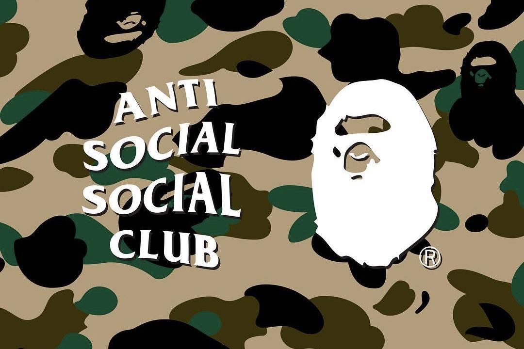 Anti Social Social Club x BAPE Upcoming Collaboration