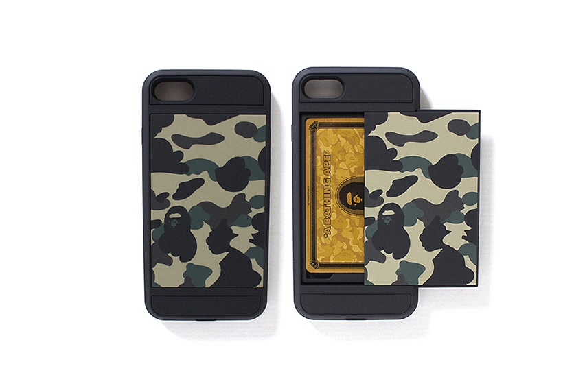 BAPE Camo iPhone 7 Case with Credit Card Compartment
