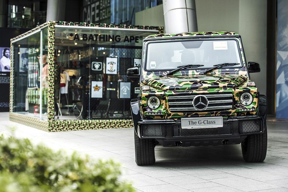 BAPE Archive Exhibition Showcases a BAPE Mercedes-Benz G-Class