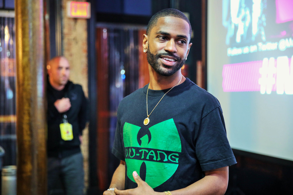 SPOTTED: Big Sean in Wu-Tang Clan T-Shirt, G-Star Raw Pants and Puma Sneakers