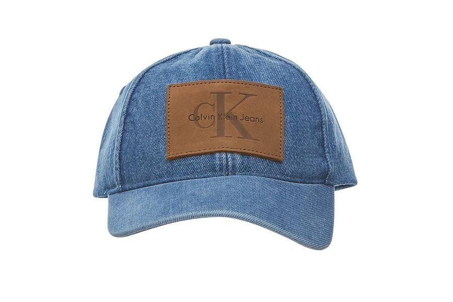 Get Summer Ready with Calvin Klein's Denim Logo Caps