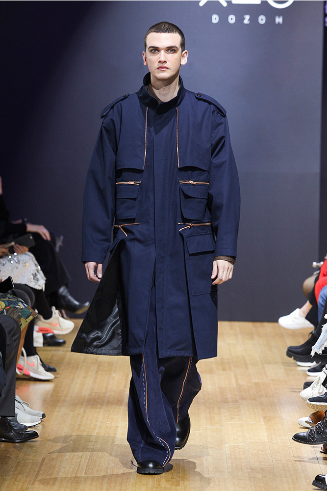 DOZOH FW17 Collection At Seoul Fashion Week
