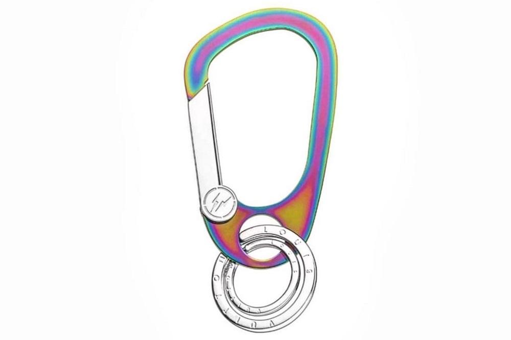 Teaser: fragment design x Louis Vuitton Iridescent Carabiner