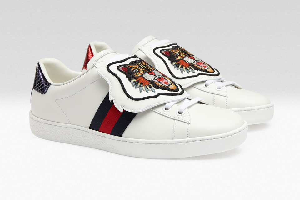 You Can Now Customise Your Gucci Ace Sneakers with New Patches