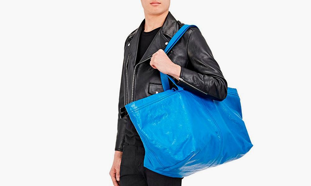 IKEA's Funny Response to Balenciaga's Copycat Tote Bag