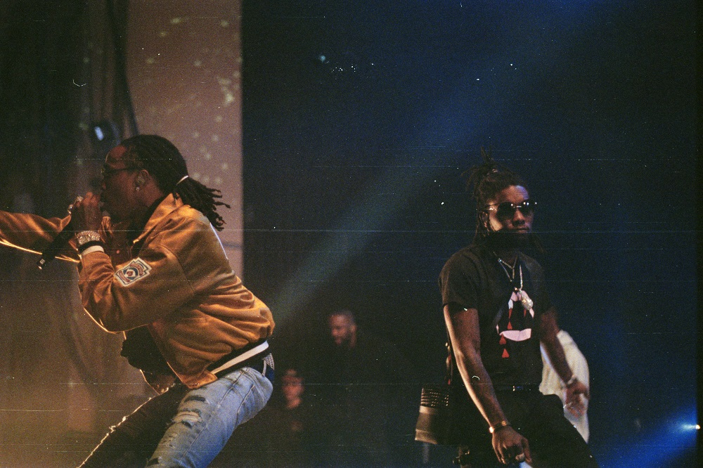 Migos and Lil Yachty Performed in London at O2 Academy Brixton