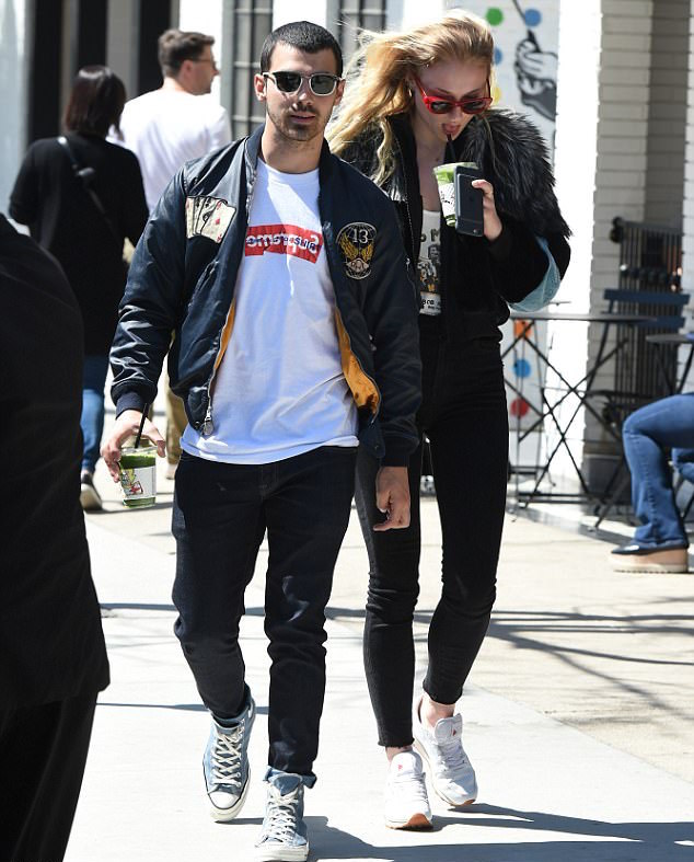 SPOTTED: Joe Jonas in Ralph Lauren, Supreme x Comme Des Garcons and Converse