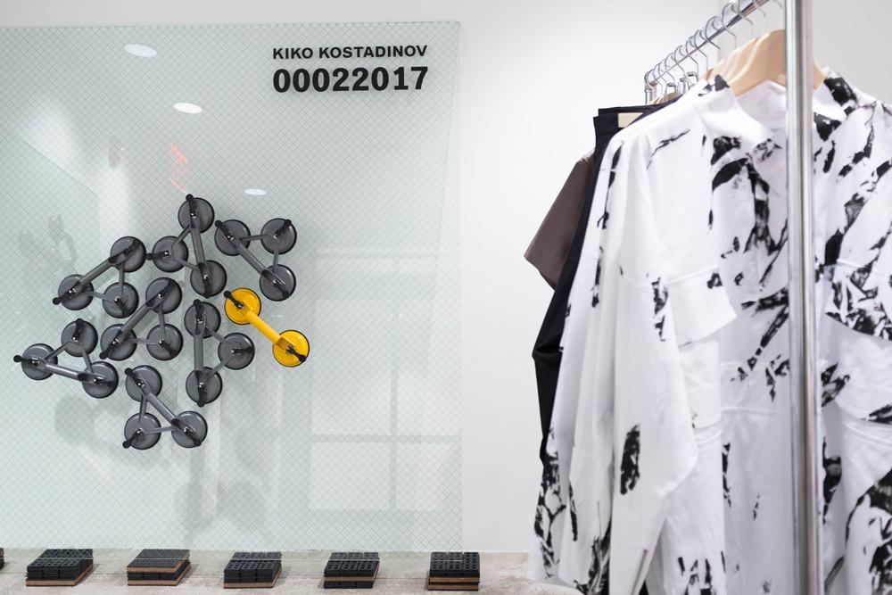 Kiko Kostadinov Dover Street Market Bespoke Collection and Installation