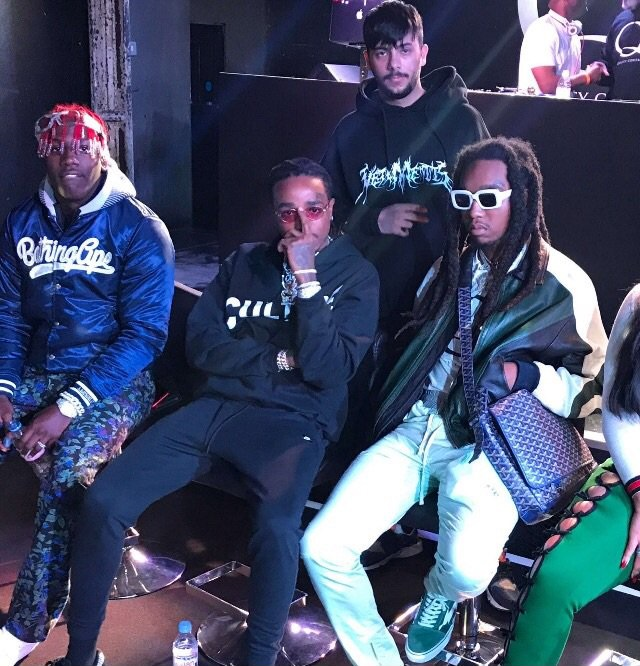 SPOTTED: Lil Yatchy & Migos In London in BAPE and Goyard