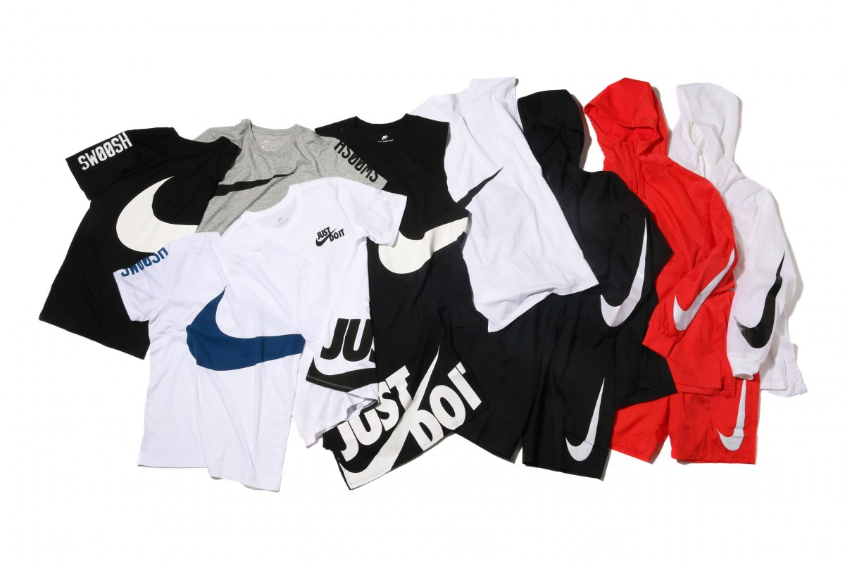 """Nike Release """"Big Swoosh"""" Collection For Spring/Summer 2017"""