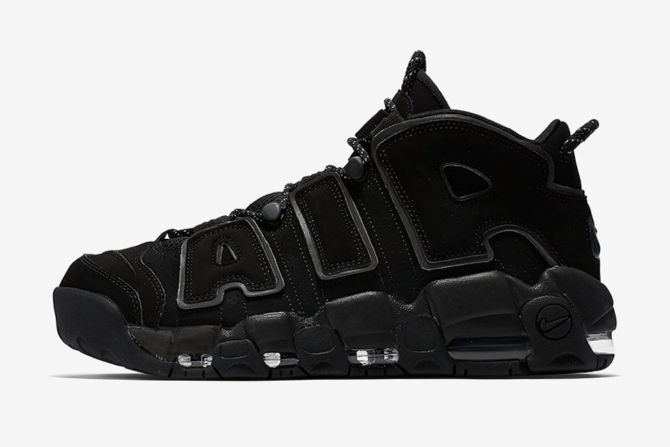 "Sneaker Watch: Nike Air More Uptempo ""Triple Black"""