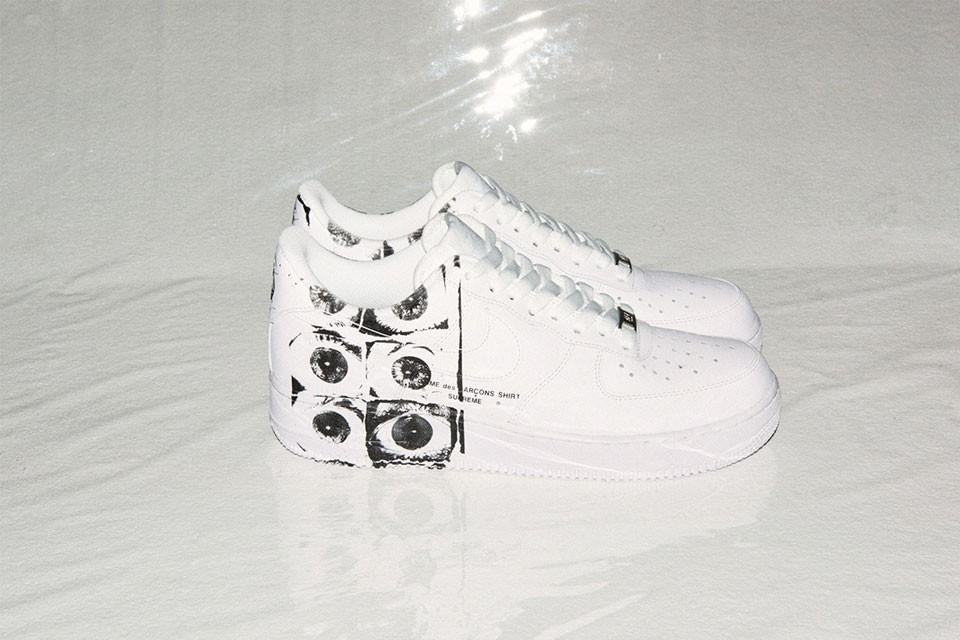 Sneaker Watch: Supreme x COMME des GARÇONS x Nike Air Force 1