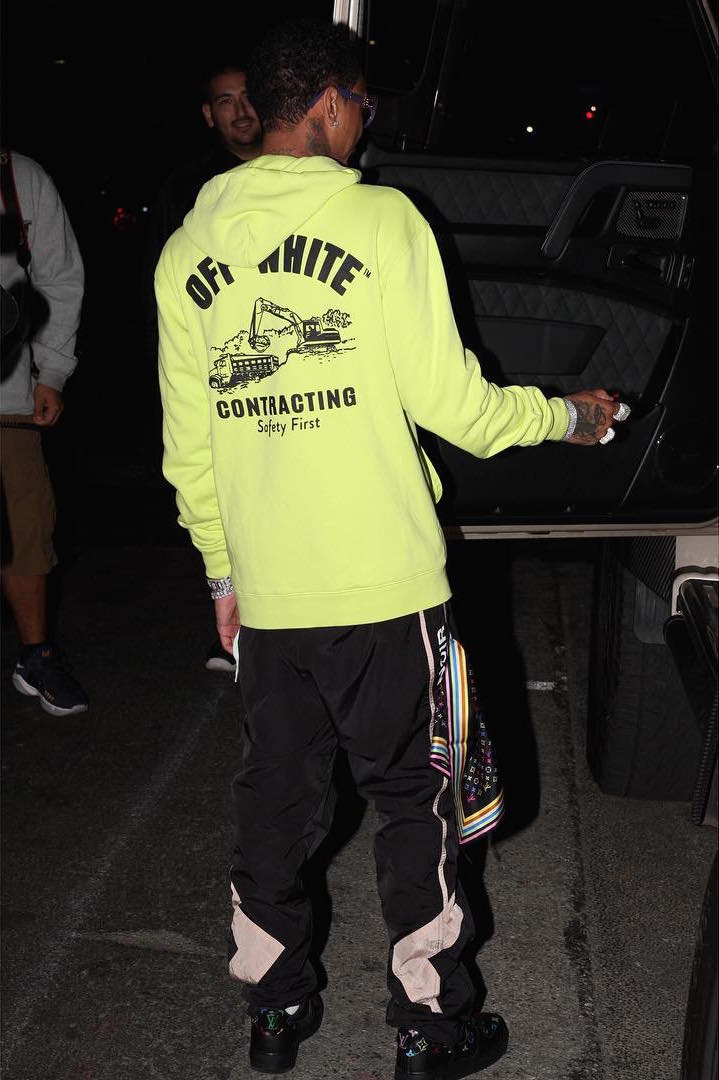 SPOTTED: Tyga in Pharrell x Louis Vuitton, Off-White, M+RC Noir and Nike