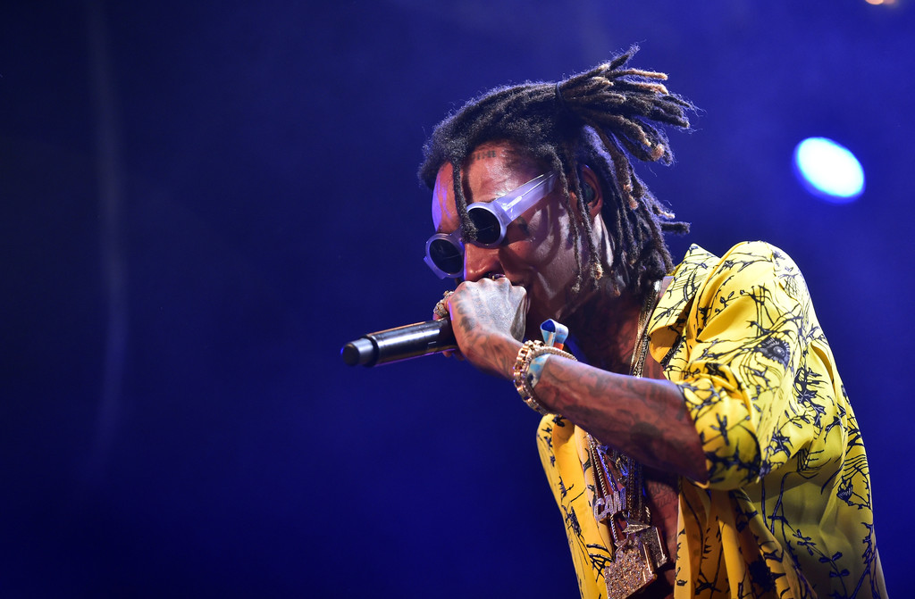 SPOTTED: Wiz Khalifa in Haider Ackermann Yellow Floral Shirt at Coachella