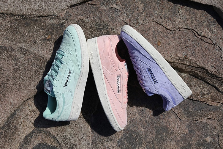 Reebok Is Back With The Release Of Club C 85 Pastel Pack
