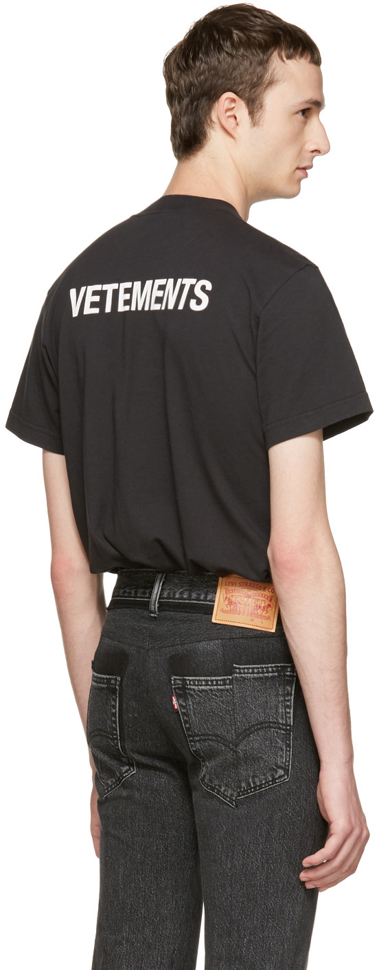 """Vetements Release Basic """"Staff"""" T-Shirt For £135"""