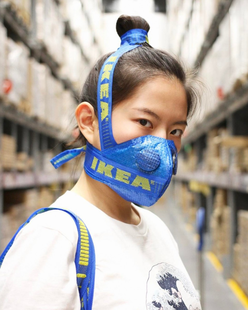The Designer of the YEEZY Face Mask is Back, With an Ikea Twist