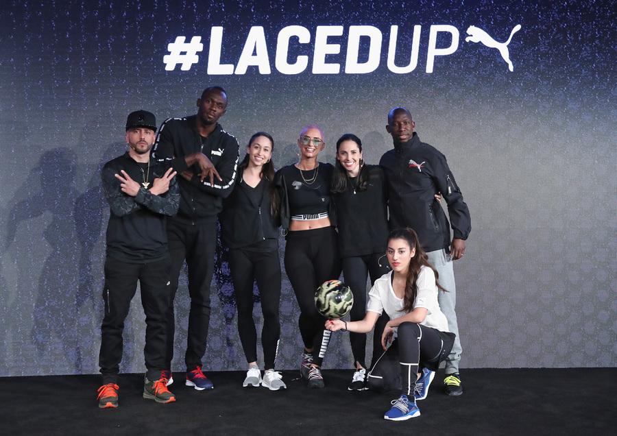 Usain Bolt And Puma Unveil A Sneaker Masterpiece