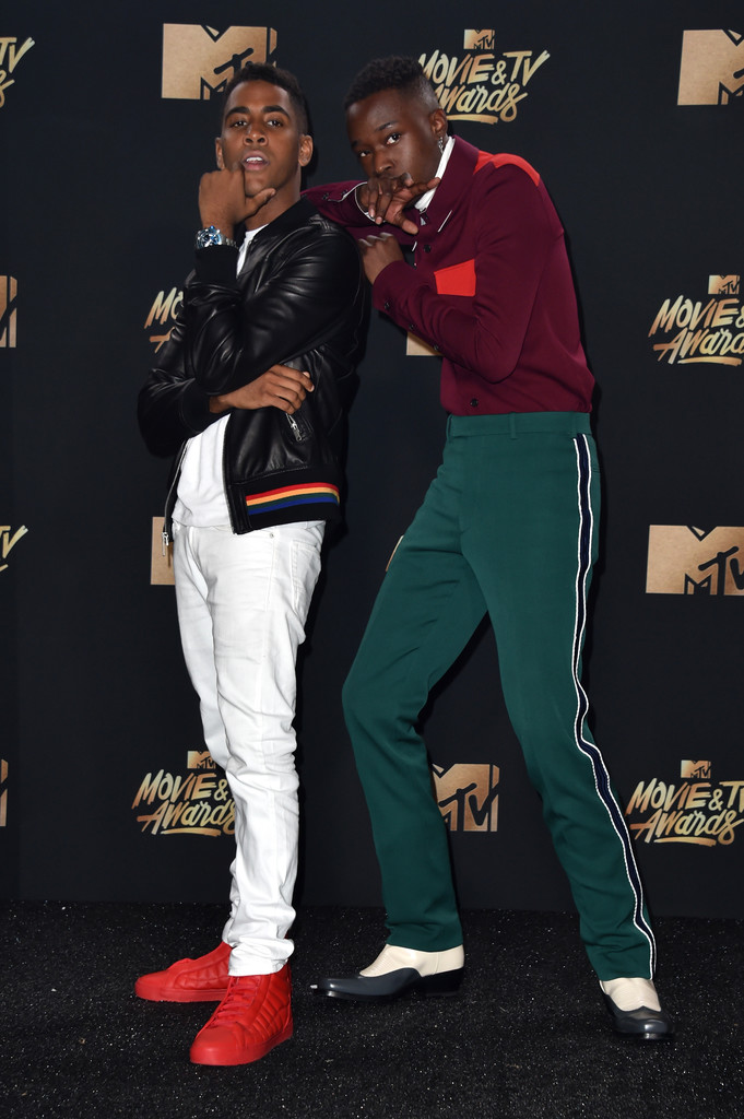 SPOTTED: Aston Sanders In Calvin Klein at 2017 MTV Movie & TV Awards