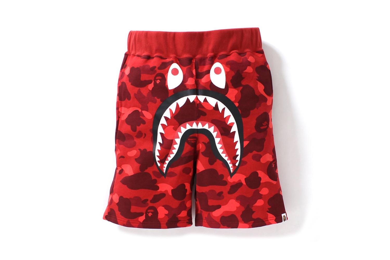 "BAPE Announce ""1st Camo Shark"" Summer Shorts"