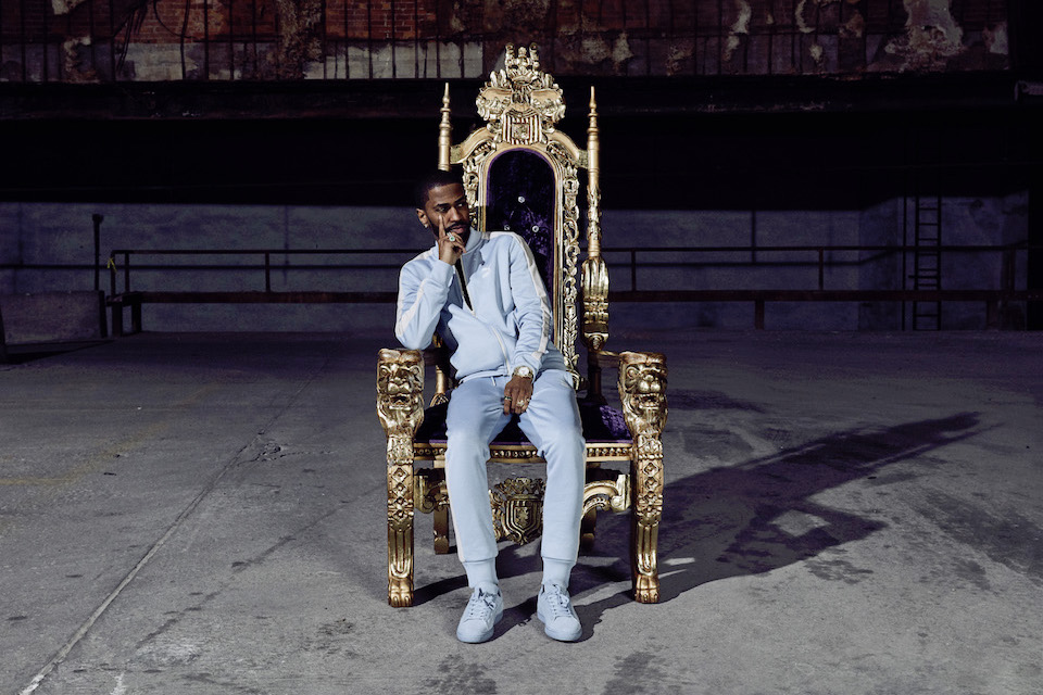 Big Sean Features In PUMA's Suede Classic Tonal Campaign