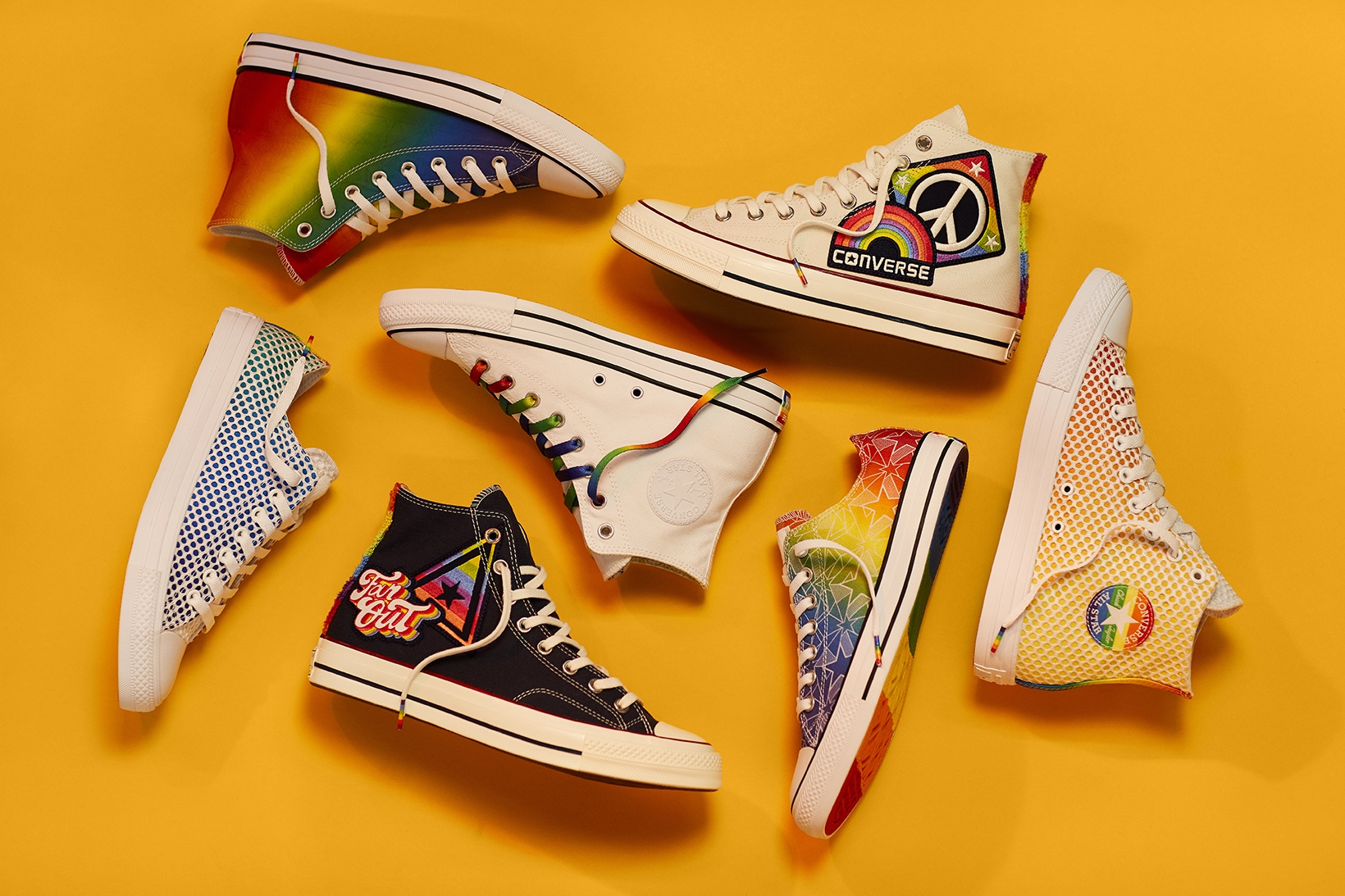 Converse celebrates equality with 2017 Pride Collection