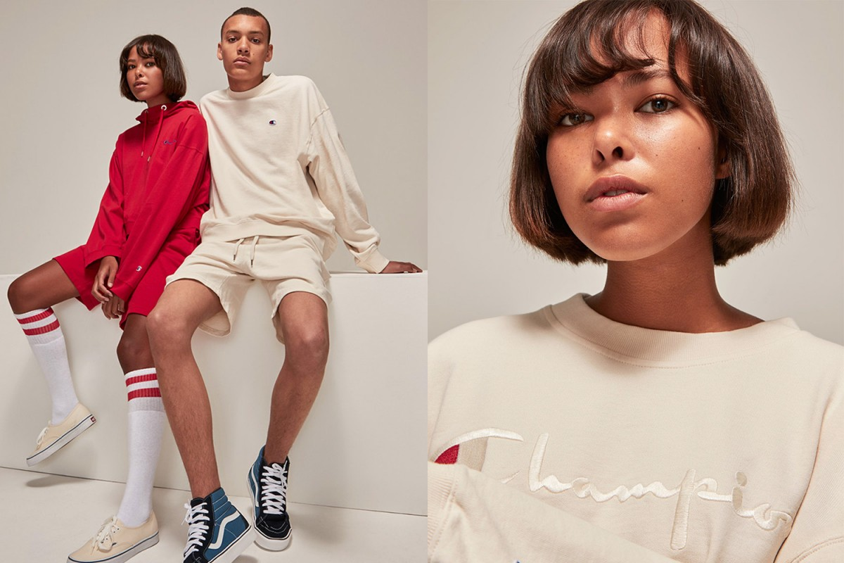 Champion and Weekday preview SS17 collaboration