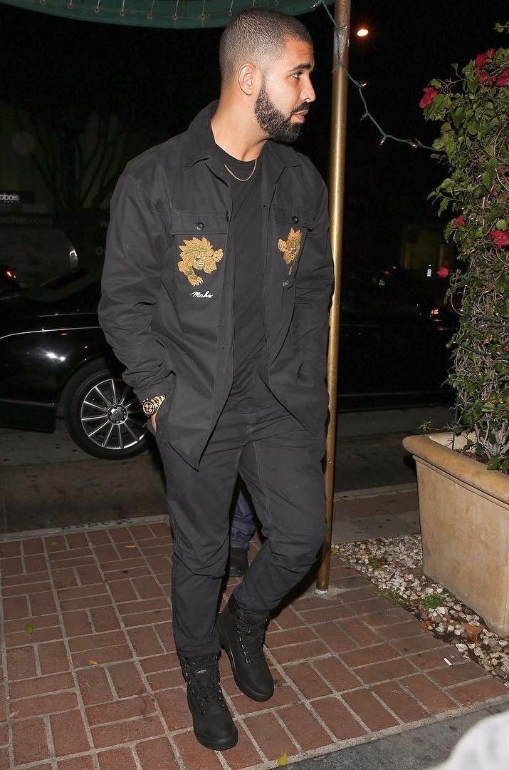SPOTTED: Drake In Maharishi Jacket
