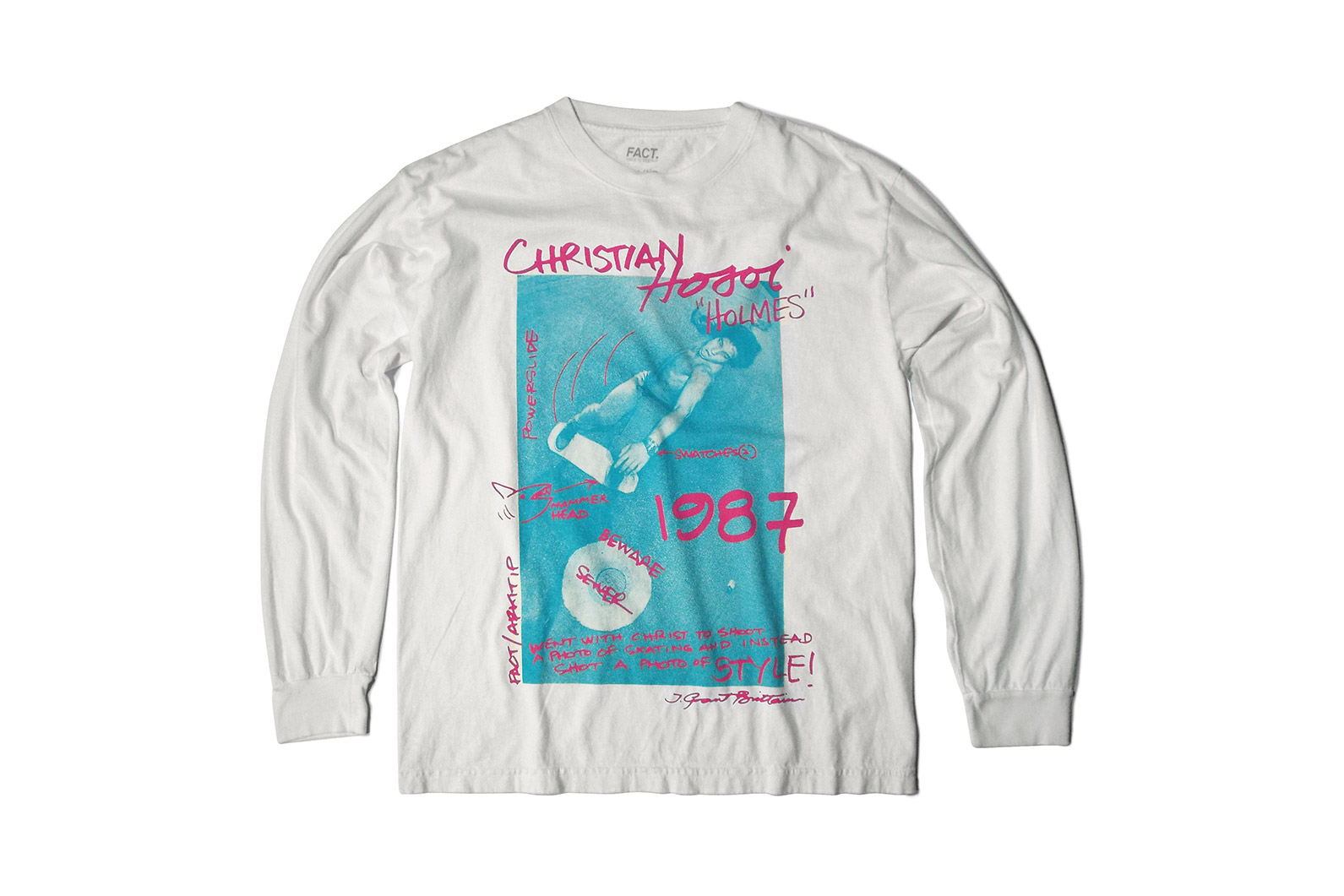 Arkitip And FACT. Release Grant Brittain / Christian Hosoi Skateboarding T-Shirt Capsule Collection