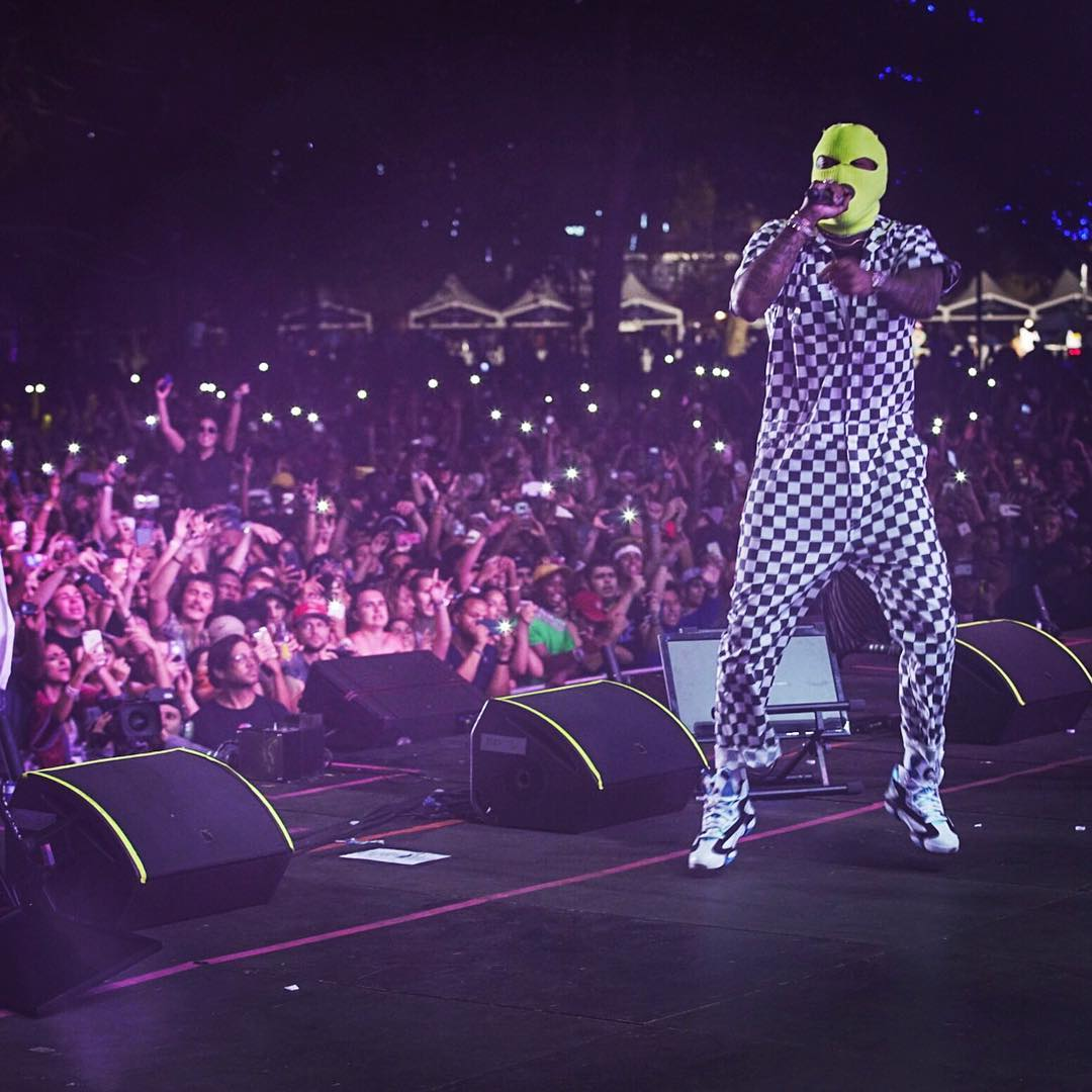 SPOTTED: Future in Checkered Supreme Jumpsuit