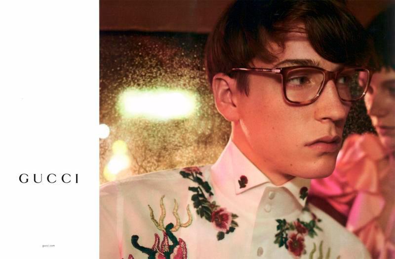 Gucci Spring/Summer 2017 Eyewear Video Campaign