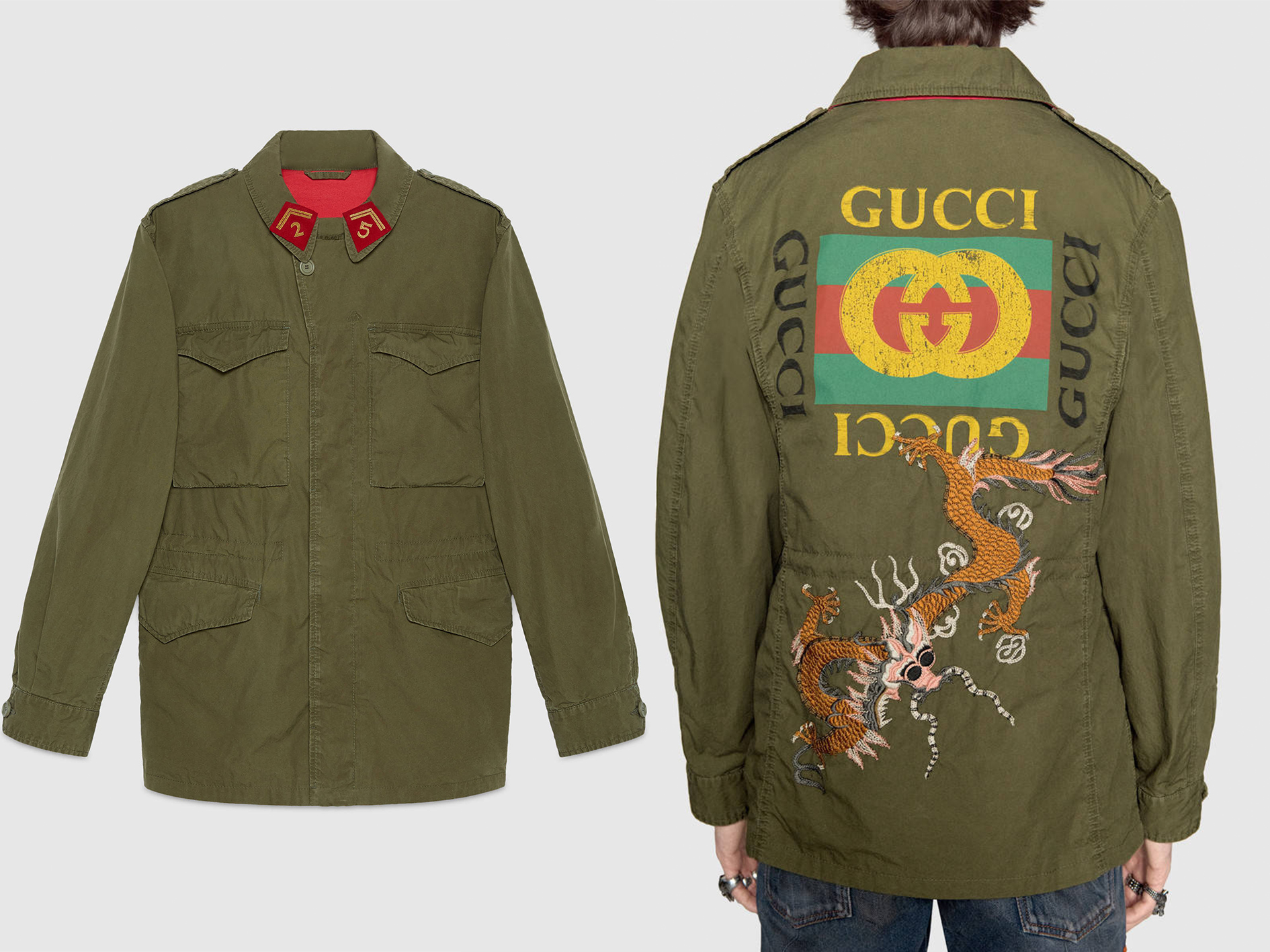 Gucci is collaborating with Angelica Hicks for a T-shirt collection
