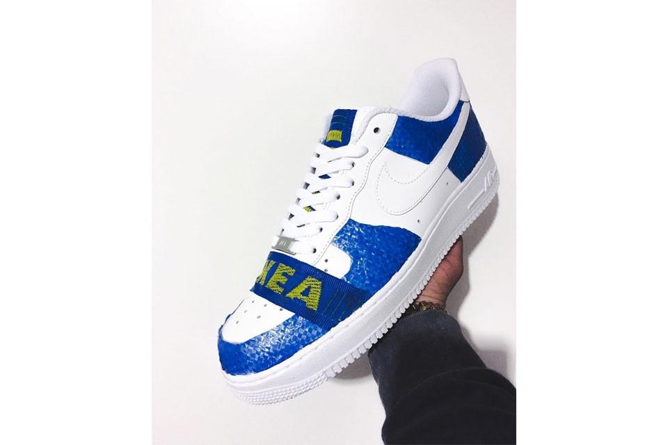 Custom IKEA x Nike Air Force 1