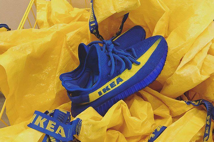 IKEA x adidas Originals Yeezy Boost 350 V2 Customs