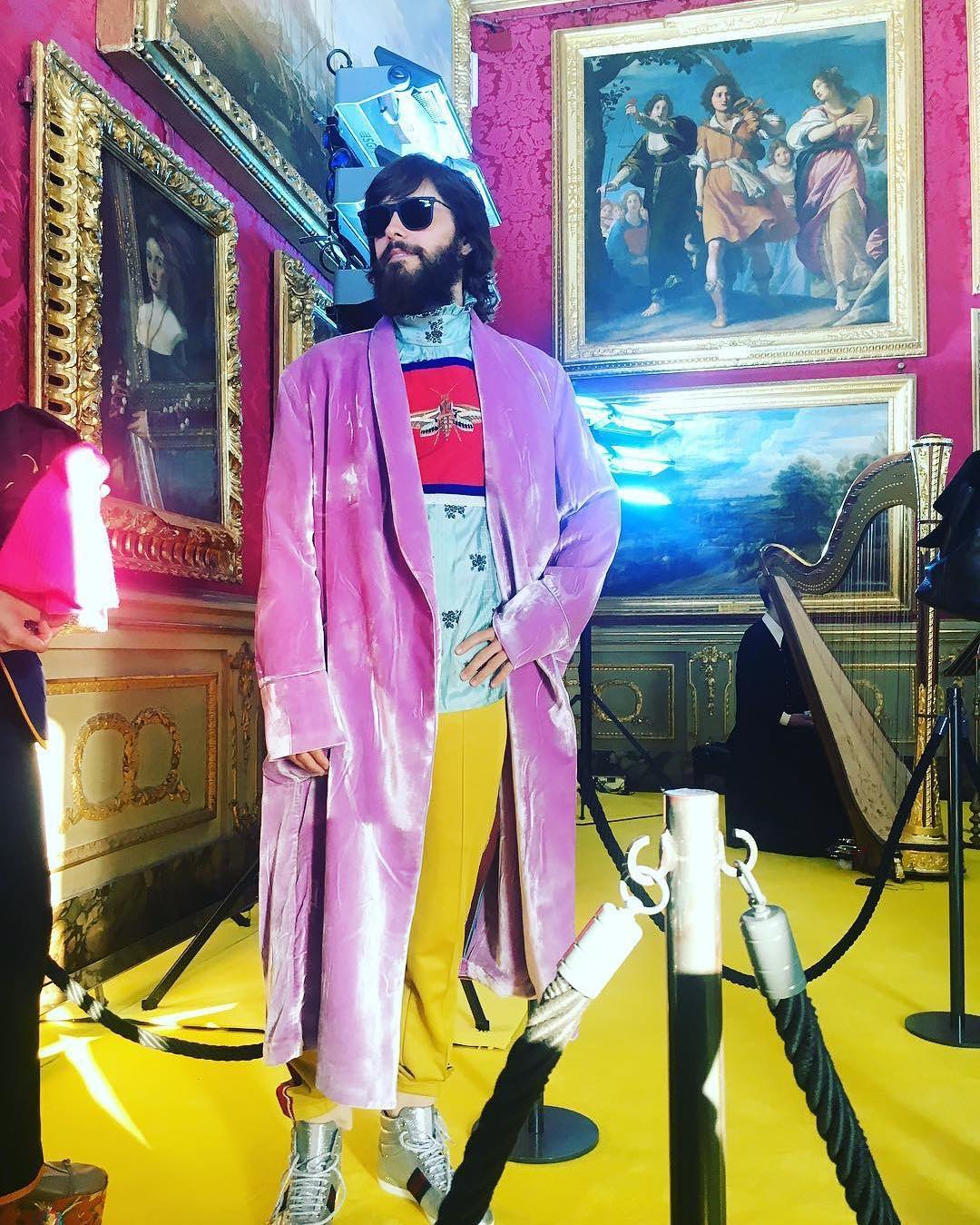 SPOTTED: Jared Leto Wears Gucci in Florence